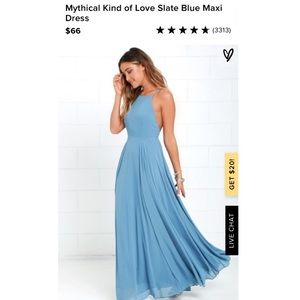 Lulus Mythical Kind of Love Dress/Gown